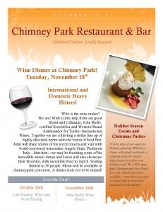 Chimneypark Newsletter October 2014_Page_1